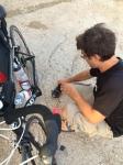 My broken pedal