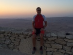 At The Ramon Crater